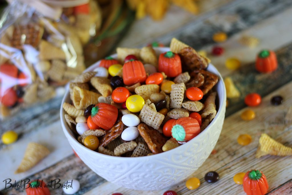 Autumn M&M Snack Mix