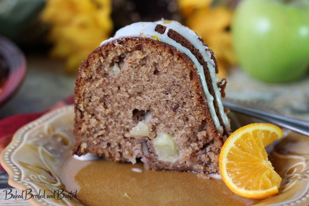 slice of Apple Bundt Cake
