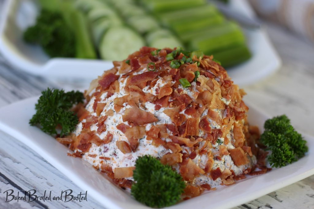 Low Carb Meal prep cheese ball