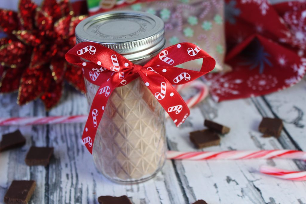 peppermint mocha mix as a gift
