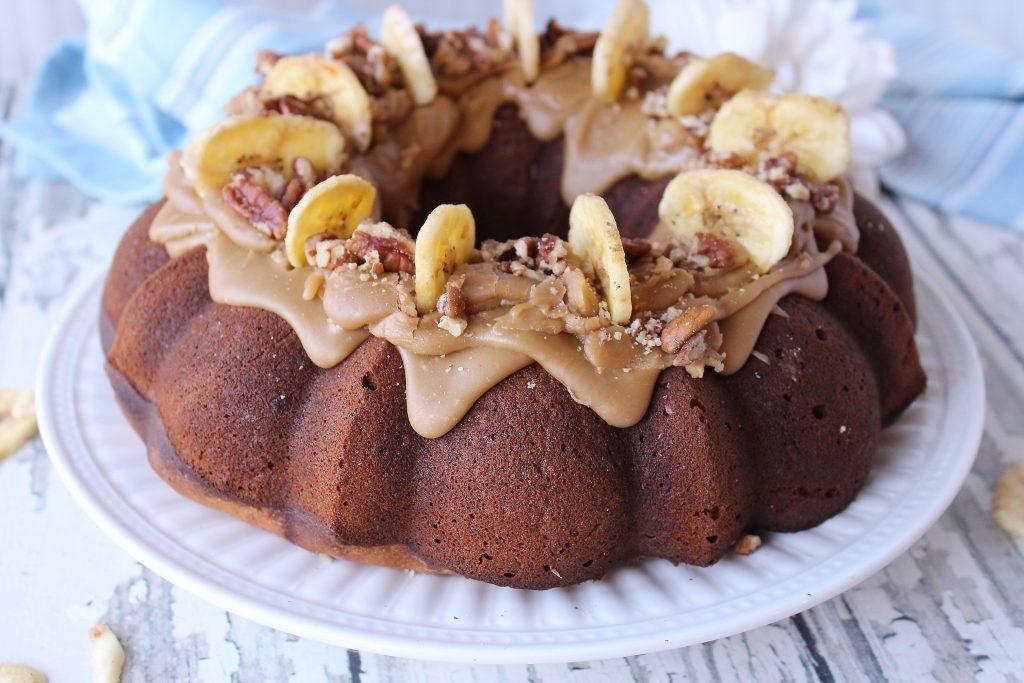Boozy Banana Cake