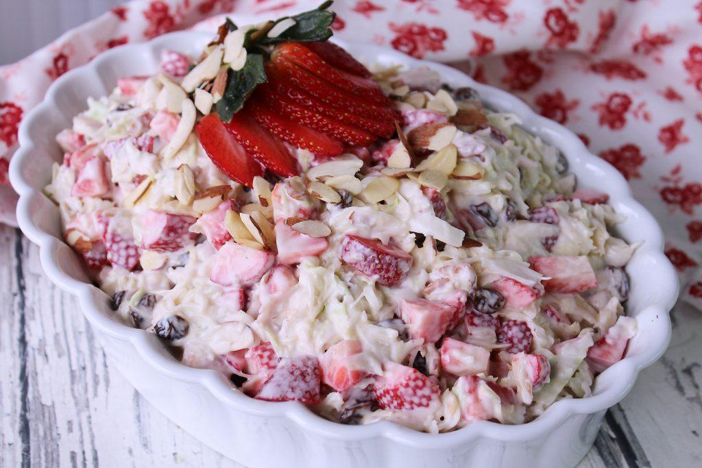 strawberry slaw