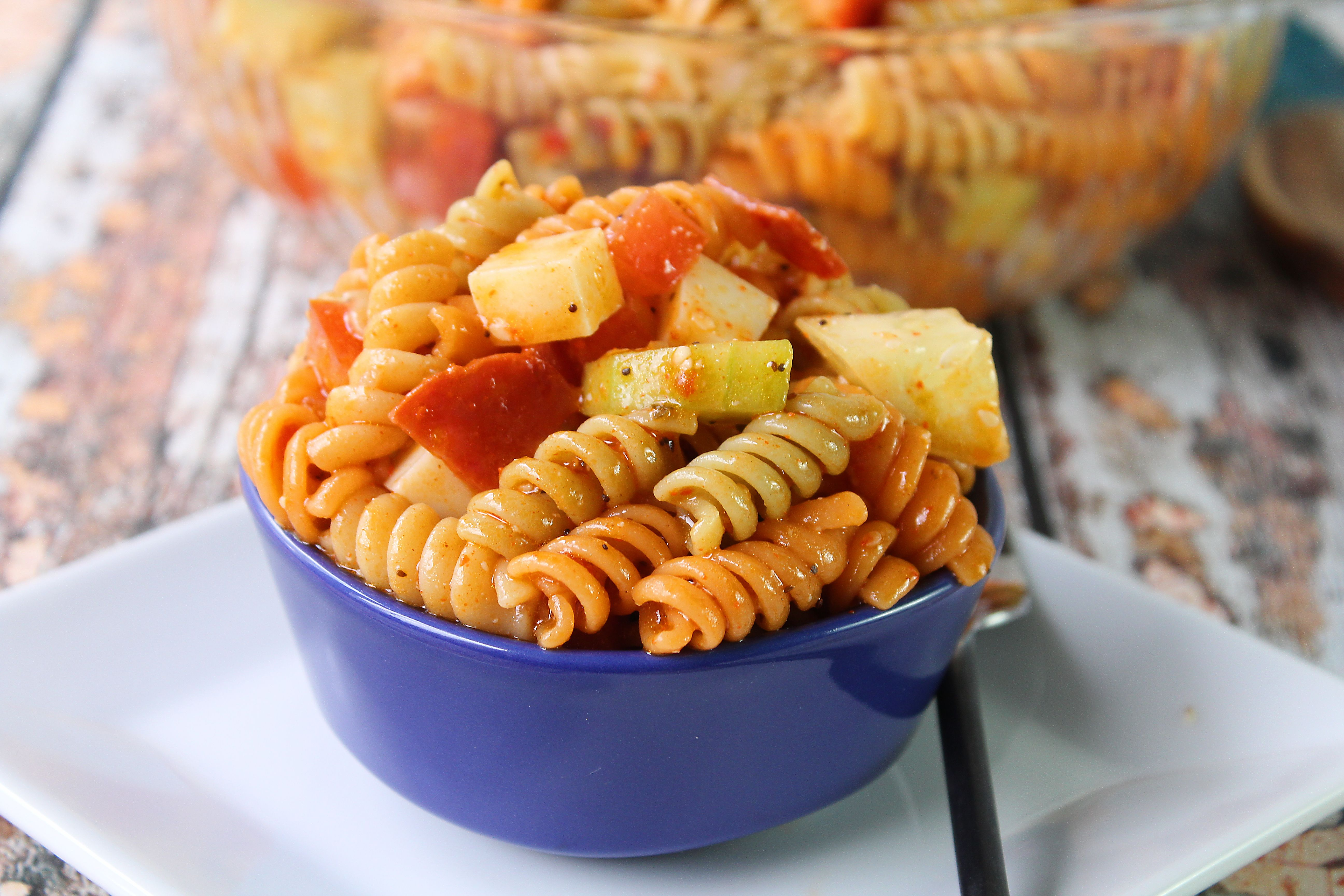Zesty Pasta Salad Supreme