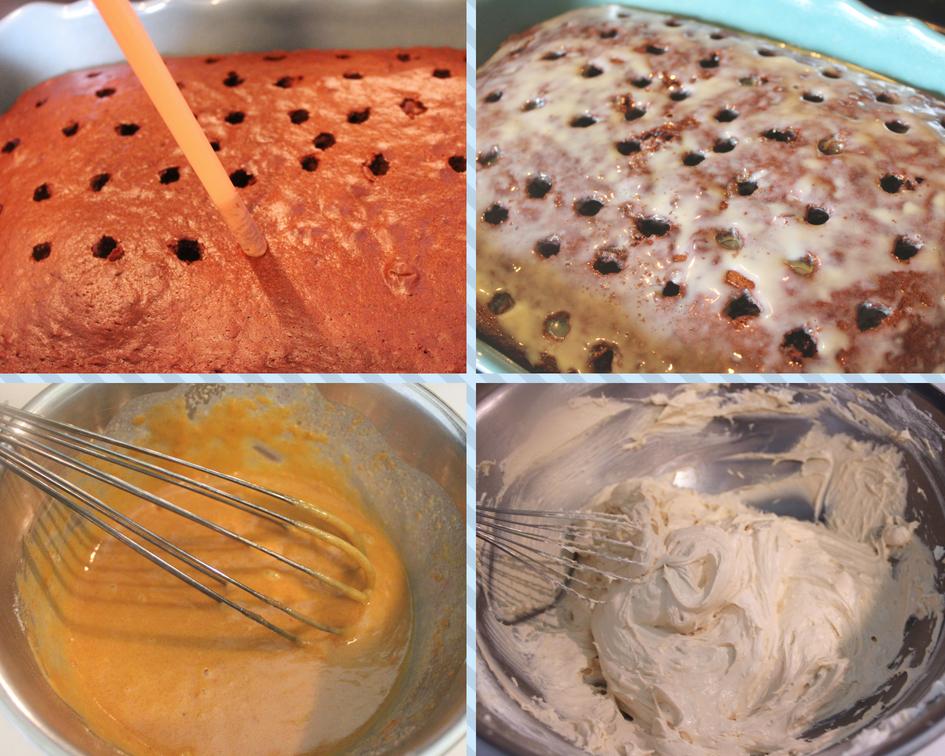 Steps to make cake