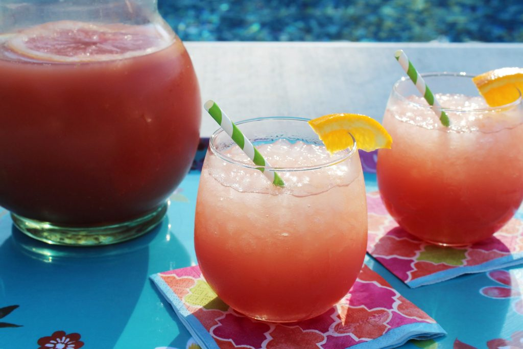 Liquid Sunshine Punch in a glass