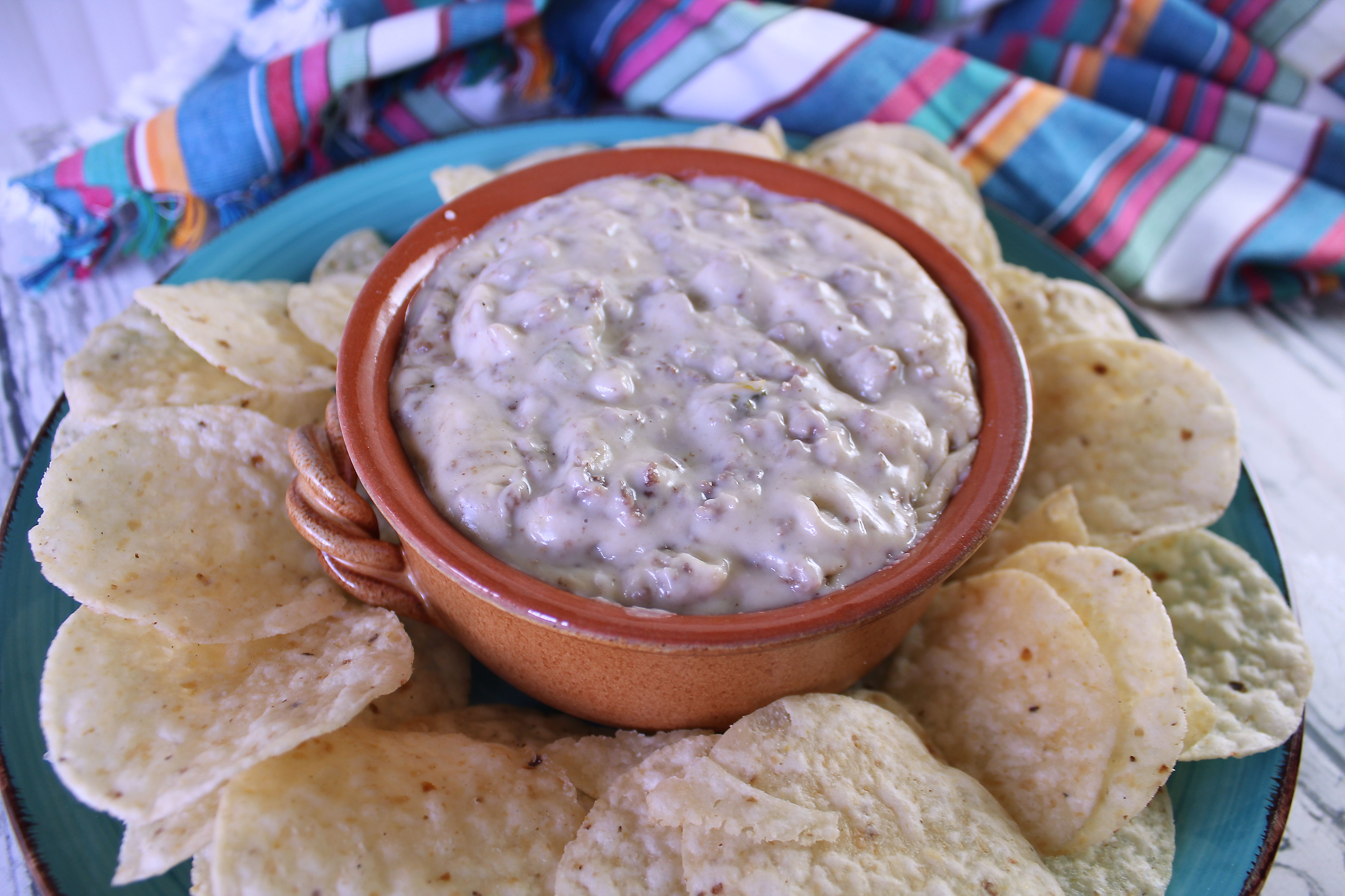 Meaty Queso Blanco Dip