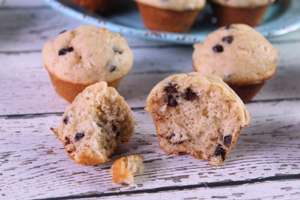 Protein Peanut Butter Mini Muffins