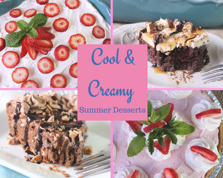 Cool and Creamy Summer Desserts