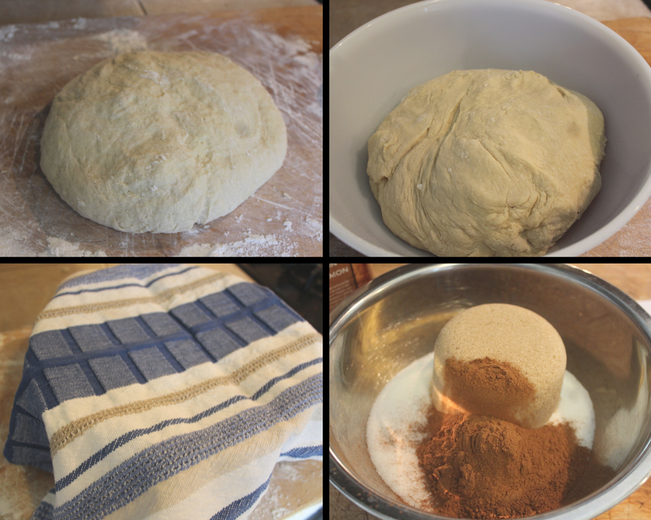 dough and filling