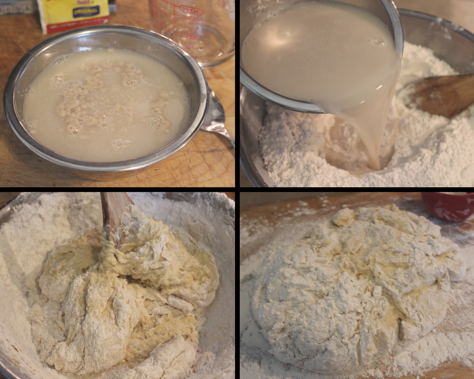steps of making roll dough