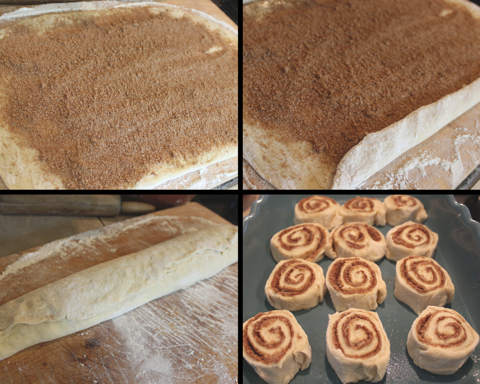 filling and slicing rolls