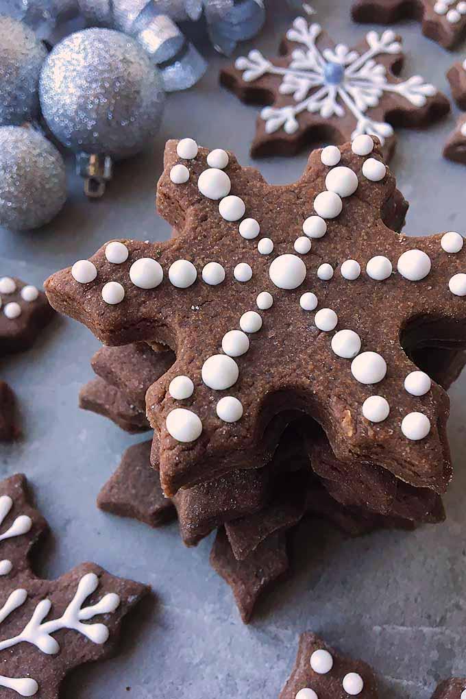 Fudgy Brownie Cut Out Cookies
