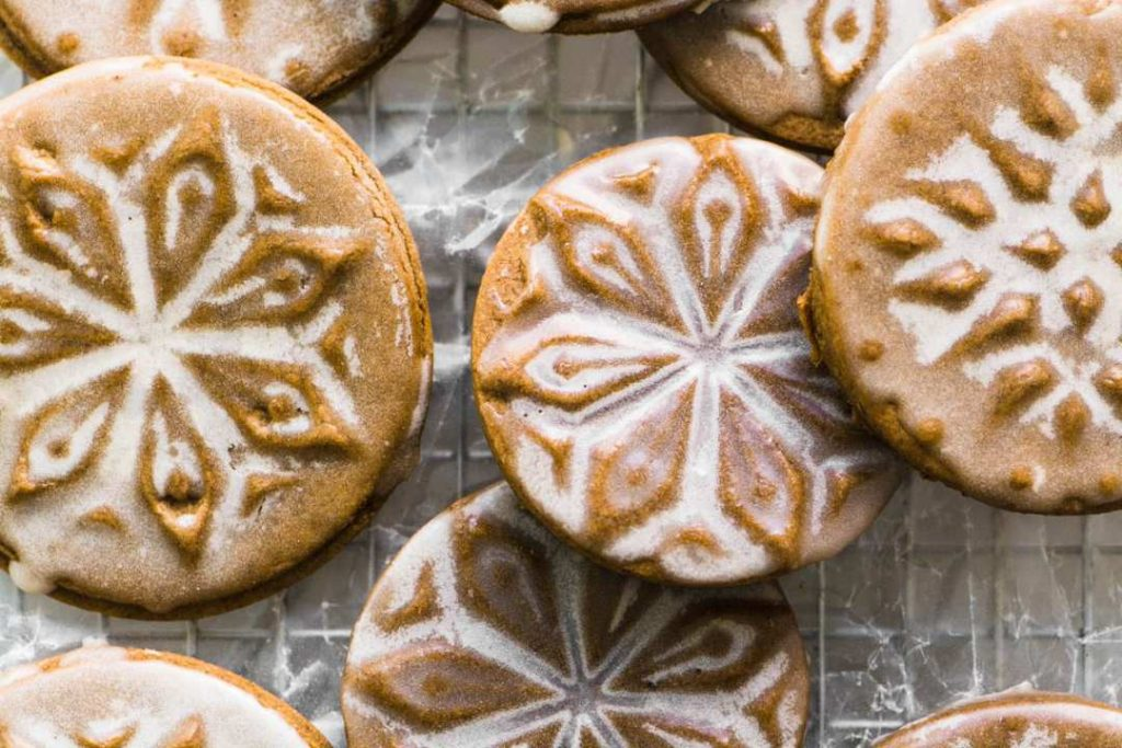 Soft Glazed Ginger Bread Cookies