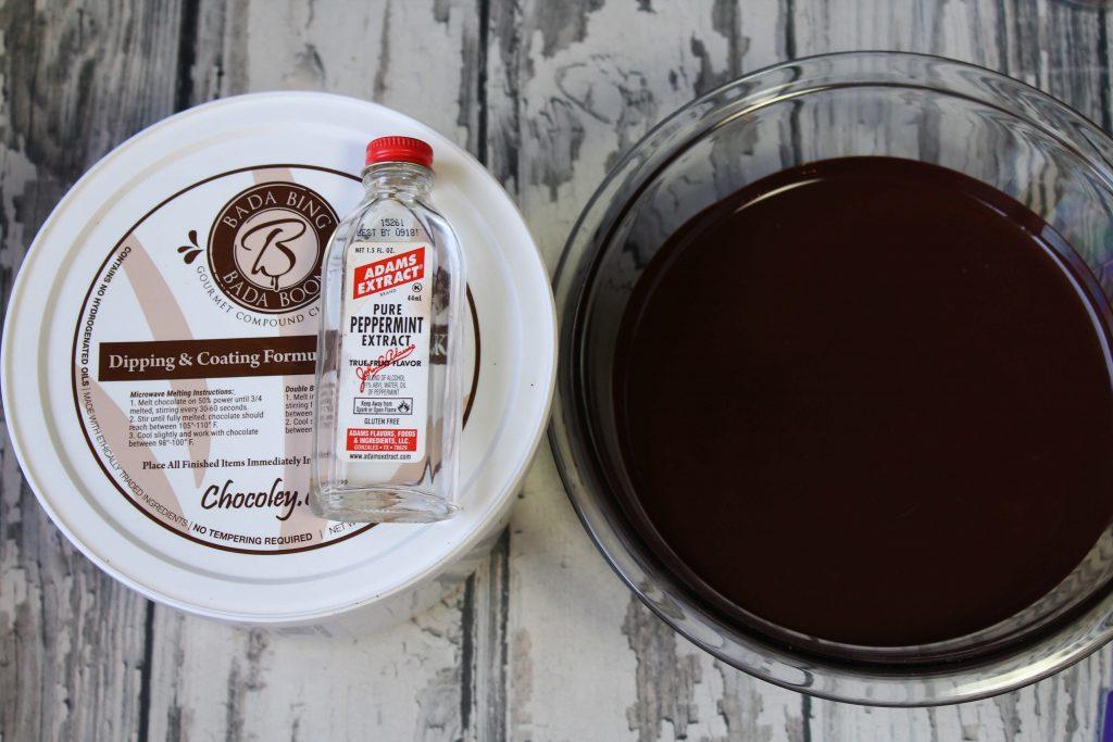 Melted Bada Bing Bada Boom dark Chocolate