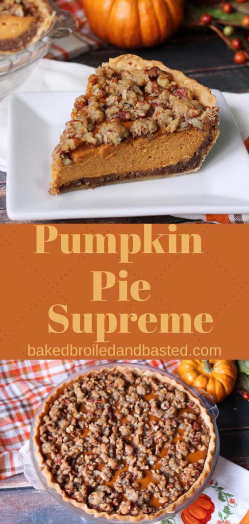 Pumpkin Pie Supreme Pin
