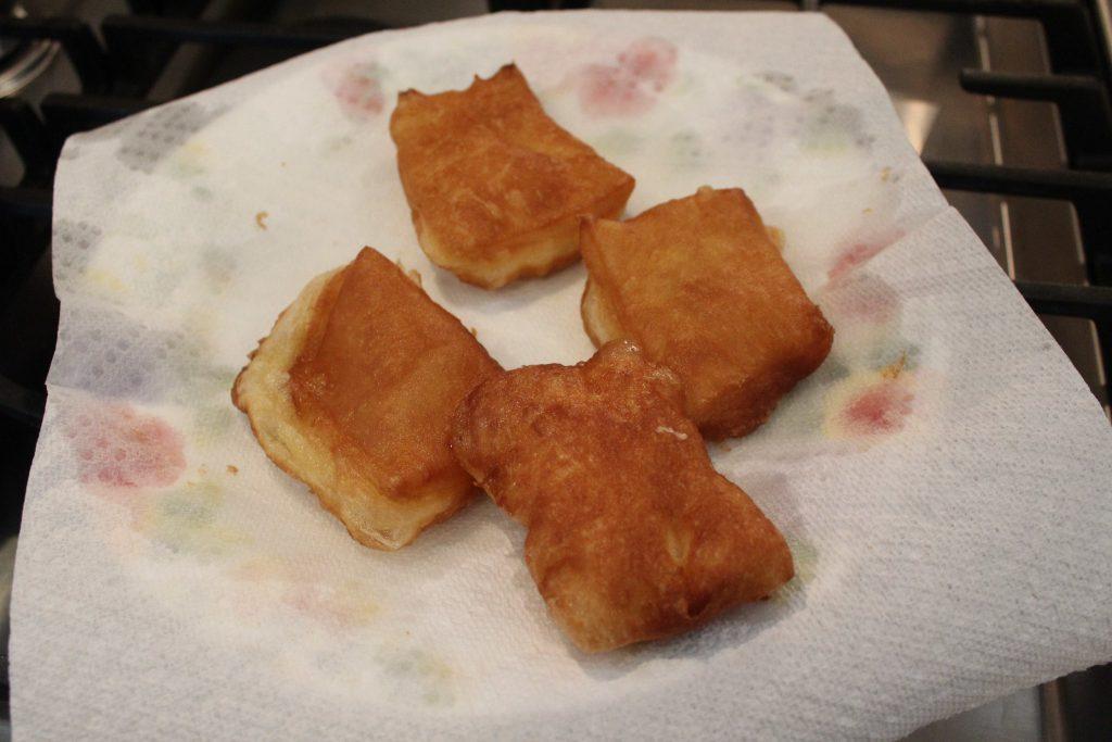Fried beignets