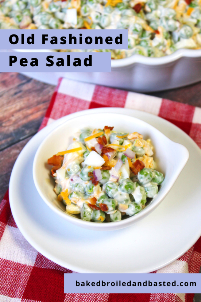 Pin Image Pea Salad