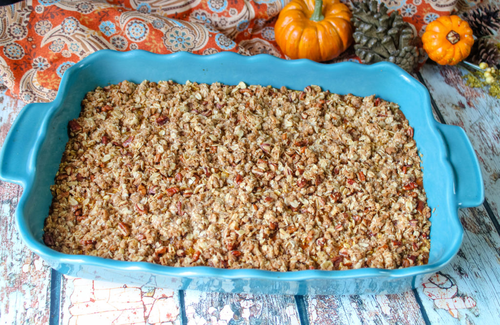 Baked Pumpkin Crisp