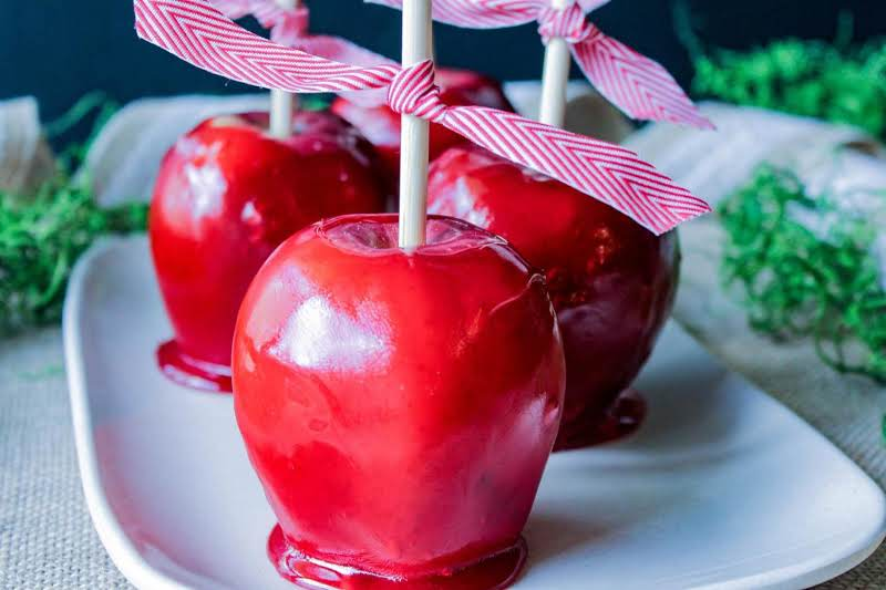 Carnival candy apples