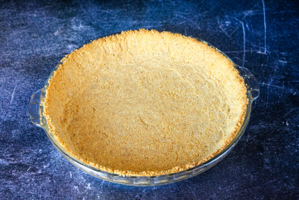 Baked Homemade Graham Cracker Crust