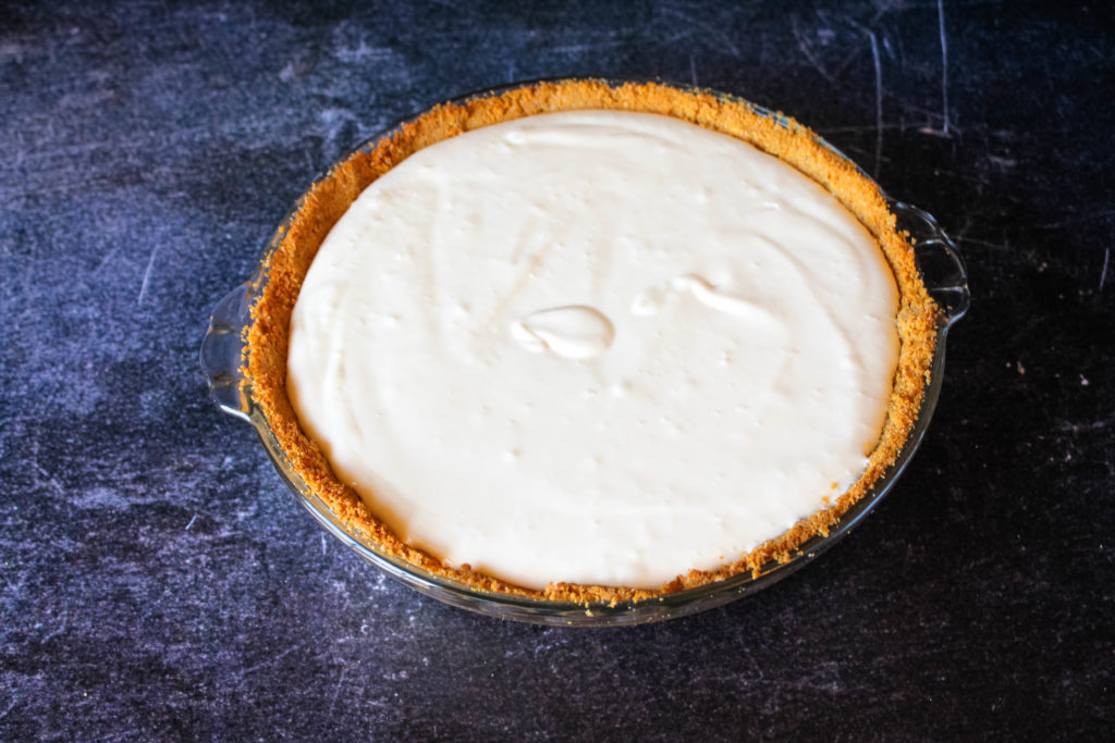 Filling for the creamy key lime pie not baked