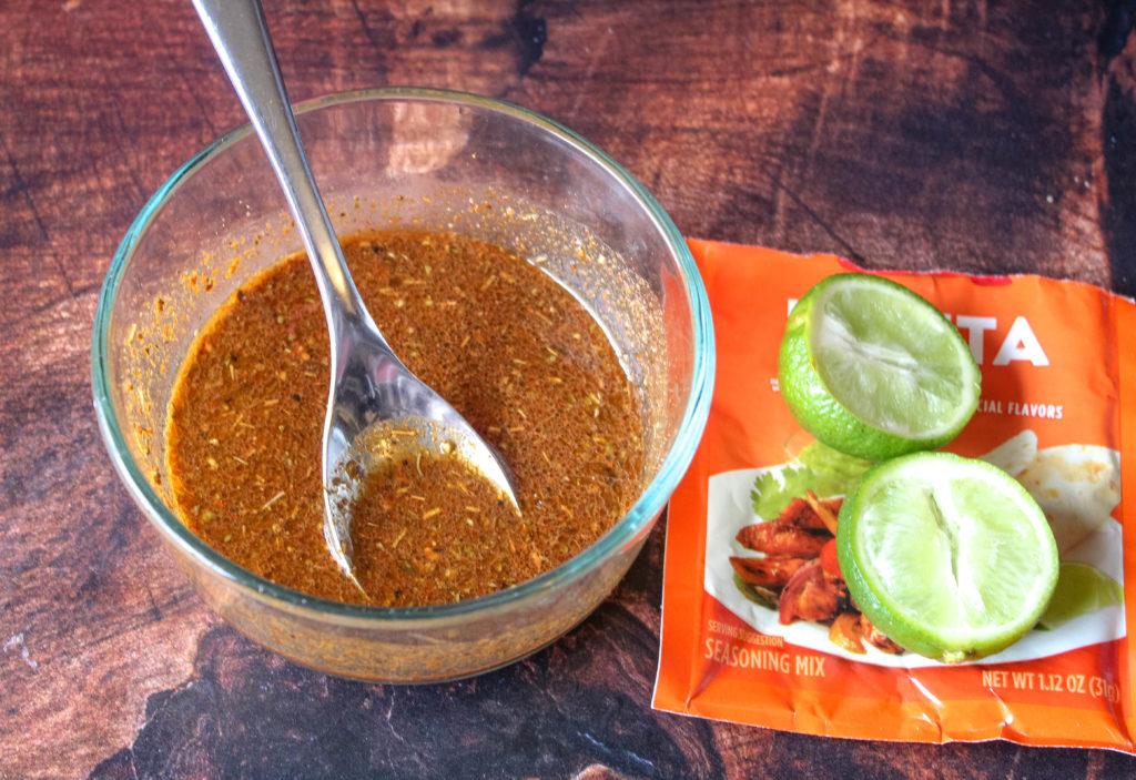 Fajita seasoning marinade