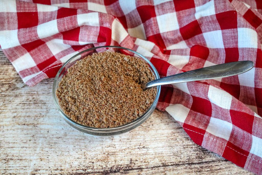 Seasoning and brown sugar mixture
