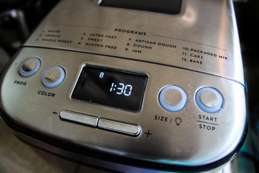 Bread Machine on dough cylce